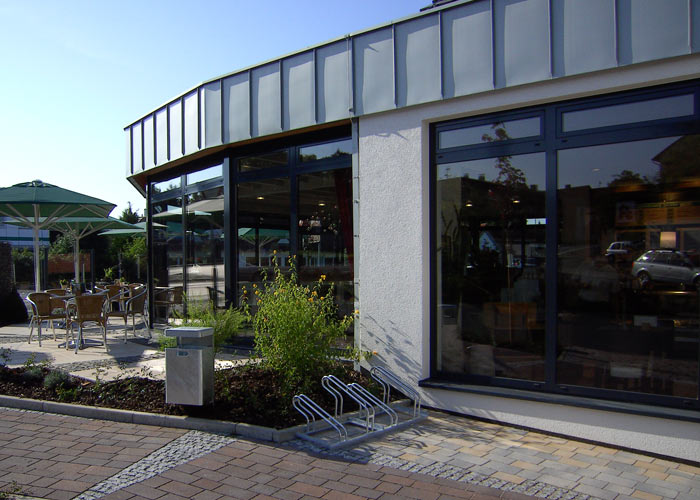 Info- Zentrum und Cafe Gilserberg